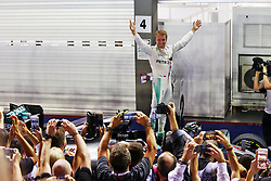 Nico Rosberg gewinnt den GP von Singapur 2016 in Singapur / 180916<br /> <br /> *** Formula One Grand Prix of Singapore at Marina Bay Street Circuit on September 18, 2016 in Singapore ***