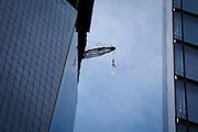 New York, New York, USA, 20120430: 1 World Trade Center passerer høyden til Empire State Building, og blir den høyeste bygningen på den nordlige halvkulen. Foto: Ørjan F. Ellingvåg