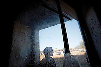 Taranto 11 ottobre 2011.Visita presso una vecchia struttura in ristrutturazione ..Apulia Film Commission.III edizione del workshop di scrittura internazionale AAW PugliaExperience