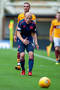 Steven Naismith (#14) of Heart of Midlothian shouts at team mates during the Ladbrokes Scottish Premiership match between Motherwell and Heart of Midlothian at Fir Park, Motherwell, Scotland on 15 September 2018.