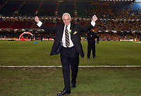 Photo: Rich Eaton.<br /> <br /> Leeds United v Watford. Coca Cola Championship. Play off Final. 21/05/2006.<br /> <br /> Watford chairman Graham Simpson celebrates after promotion