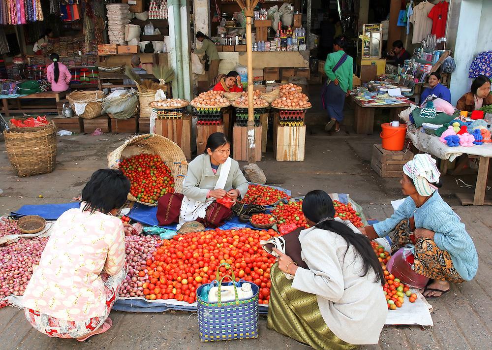 Taunggyi, Myanmar.