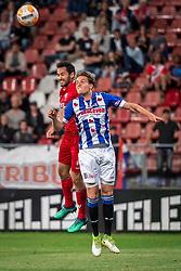 12-05-2018 NED: FC Utrecht - Heerenveen, Utrecht<br /> FC Utrecht win second match play off with 2-1 against Heerenveen and goes to the final play off / (L-R) Mark van der Maarel #2 of FC Utrecht score the 2-0, Daniel Hoegh #3 of SC Heerenveen