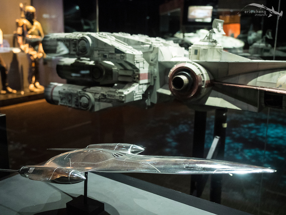 Star Wars exhibit at the Tech Museum of Innovation in San Jose, California