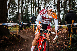 Maud Kaptheijns, NK Veldrijden Elite-Vrouwen en Amateur-Vrouwen / Dutch Championship Cyclocross Elite Women and Amateur Women at Sint Michielsgestel, Noord-Brabant, The Netherlands, 8 January 2017. Photo by Pim Nijland / PelotonPhotos.com | All photos usage must carry mandatory copyright credit (Peloton Photos | Pim Nijland)
