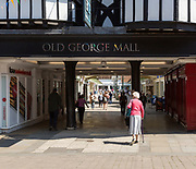 Old George Mall shopping centre, Salisbury, Wiltshire, England, UK