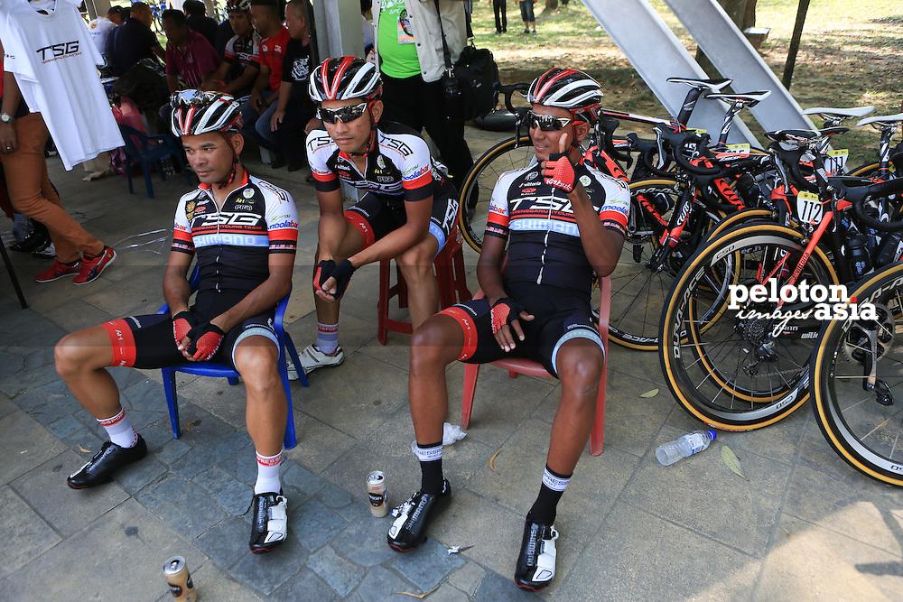 le Tour De Langkawi 2015/Stage 7- Shah Alam - Fraser's Hill/ 180.8km/TSG/Zamri Salleh/Adiq Husaini/Saiful Anuar Aziz