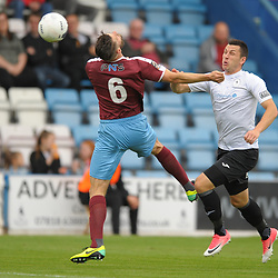 TELFORD COPYRIGHT MIKE SHERIDAN Aaron Williams of Telford during the National League North fixture between AFC Telford United and Gateshead FC at the New Bucks Head Stadium on Saturday, August 10, 2019<br /> <br /> Picture credit: Mike Sheridan<br /> <br /> MS201920-005