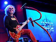 "Musician Sammy Hagar performs at the Starkey Hearing Foundation's ""So the World May Hear"" Awards Gala on Sunday, July 20, 2014 in St. Paul, Minn. The foundation gives away more than 100,000 hearing aids in the U.S. and around the world annually. (Photo by Diane Bondareff/Invision for Starkey Hearing Foundation/AP Images)"