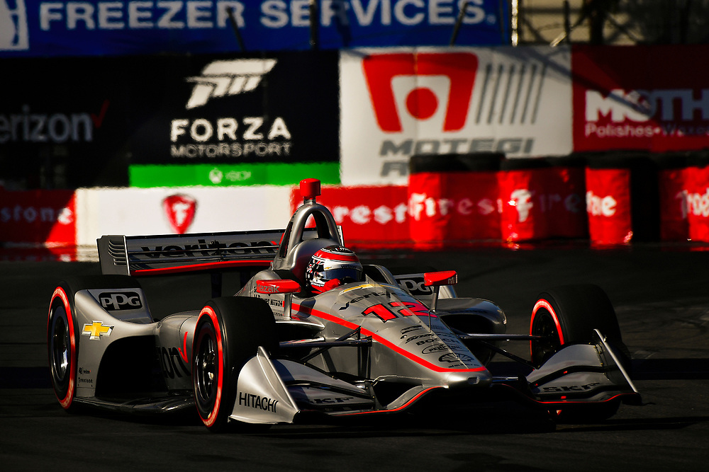 Will Power, Team Penske Chevrolet<br /> Saturday 14 April 2018<br /> Toyota Grand Prix of Long Beach<br /> Verizon IndyCar Series<br /> Streets of Long Beach, California USA<br /> World Copyright: Scott R LePage<br /> LAT Images