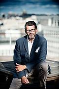 Yves Baudechon, co-founder of the Social Lab social agency (Belgium, 15/09/2015)