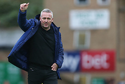 Ipswich Town manager Paul Lambert applauds the away fans - Mandatory by-line: Arron Gent/JMP - 27/10/2019 - FOOTBALL - Roots Hall - Southend-on-Sea, England - Southend United v Ipswich Town - Sky Bet League One