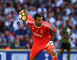 August 5, 2017 - London, England, United Kingdom - Gianluigi Buffon of Juventus FC .during the Friendly match between Tottenham Hotspur and Juventus at Wembley stadium, London, England on 5 August 2017. (Credit Image: © Kieran Galvin/NurPhoto via ZUMA Press)