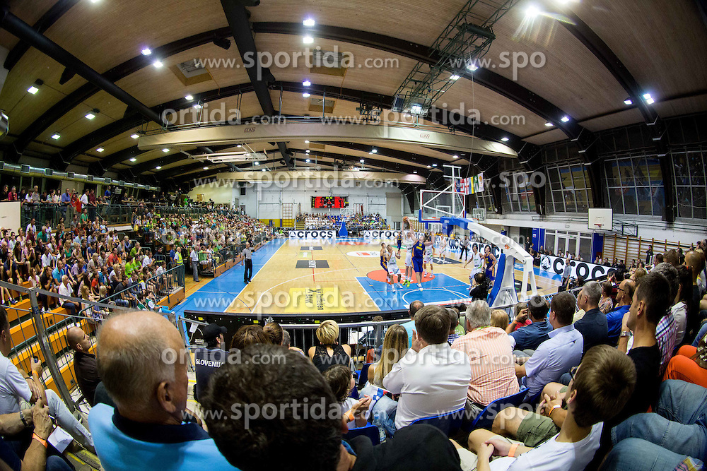 Arena during friendly basketball match between National teams of Slovenia and Ukraine at day 3 of Adecco Cup 2014, on July 26, 2014 in Rogaska Slatina, Slovenia. Photo by Vid Ponikvar / Sportida.com