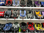 display of Child's car safety seats