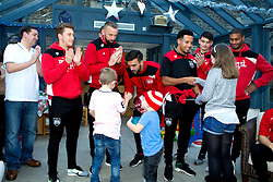 Bristol City's visit to the Children's Hospice South West at Charlton Farm - Mandatory by-line: Robbie Stephenson/JMP - 21/12/2016 - FOOTBALL - Children's Hospice South West - Bristol , England - Bristol City Children's Hospice Visit