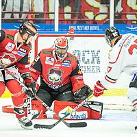2019-09-28 | Malmö, Sweden: Malmö Redhawks (69) Oscar Alsenfelt during the game between Malmö Redhawks and Örebro HK at Swedbank Arena ( Photo by: Roger Linde | Swe Press Photo )<br /> <br /> Keywords: Swedbank Arena, Malmö, Icehockey, SHL, Malmö Redhawks, Örebro HK, mo190928