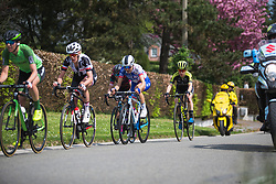 Shara Gillow (AUS) of FDJ Nouvelle Aquitaine Futuroscope Team rides mid-group during Liege-Bastogne-Liege - a 136 km road race, between Bastogne and Ans on April 22, 2018, in Wallonia, Belgium. (Photo by Balint Hamvas/Velofocus.com)