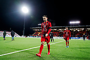 OSTERSUND, SWEDEN - MARCH 17: Sotirios Papagianopoulos of Ostersunds FK leaves the pitch after the Swedish Cup Semifinal between Ostersunds FK and Malmo FF at Jamtkraft Arena on March 17, 2018 in Ostersund, Sweden. Photo: Nils Petter Nilsson/Ombrello ***BETALBILD***