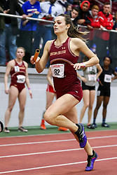 4x400 relay, BC, Barron<br /> Boston University Athletics<br /> Hemery Invitational Indoor Track & Field
