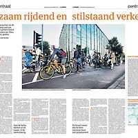 Parool 28 september 2013: fietsen in het verkeer