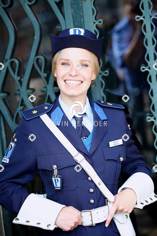 RADIO KOOTWIJK - Op de filmset van de nieuwe film Mega Mindy en de Snoepbaron. Met op de foto Free Souffriau als Mieke Fonkel. FOTO LEVIN DEN BOER - PERSFOTO.NU