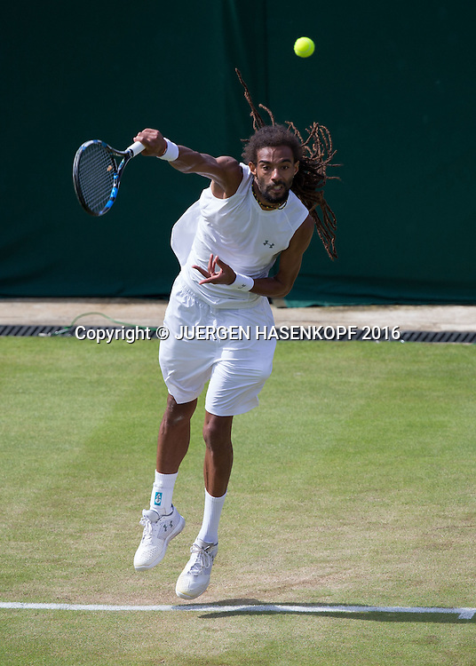 Dustin Brown (GER)<br /> <br /> Tennis - Wimbledon 2016 - Grand Slam ITF / ATP / WTA -  AELTC - London -  - Great Britain  - 1 July 2016.