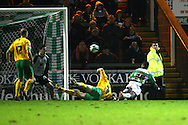 Yeovil - Saturday December 12th, 2009:  Yeovil's Jonathan Obika scores his sides 3rd goal and celebrates during the Coca Cola League One match at Huish Park, Yeovil. (Pic by Paul Chesterton/Focus Images)