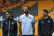 The Wolverhampton Wanderers players have arrived before the Europa League play off leg 2 of 2 match between Wolverhampton Wanderers and Torino at Molineux, Wolverhampton, England on 29 August 2019.