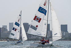 JOURDREN Bruno, FLAGEUL Eric, VIMONT-VICARY Nicolas, FRA, 3-Person Keelboat, SONAR, Sailing, Voile, TINGLEY Paul, LUTES Scott, CAMPBELL Logan, CAN à Rio 2016 Paralympic Games, Brazil