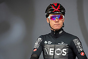 Chris Froome of Team Ineos on stage in Doncaster for the tem presentations during the first stage of the Tour de Yorkshire from Doncaster to Selby, Doncaster, United Kingdom on 2 May 2019.