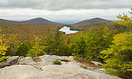 View of Kettle Pond from Owl's Head Mountain.