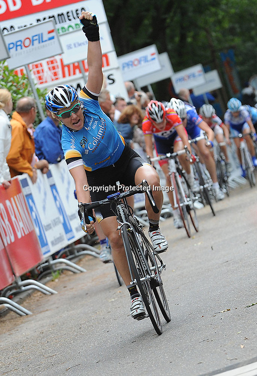 Ladiestour 2008 Hellendoorn <br />Ina Yoko Teutenberg wins first stage
