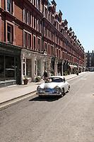 Old Porsche, Chiltern Street, Marylebone, Londres.
