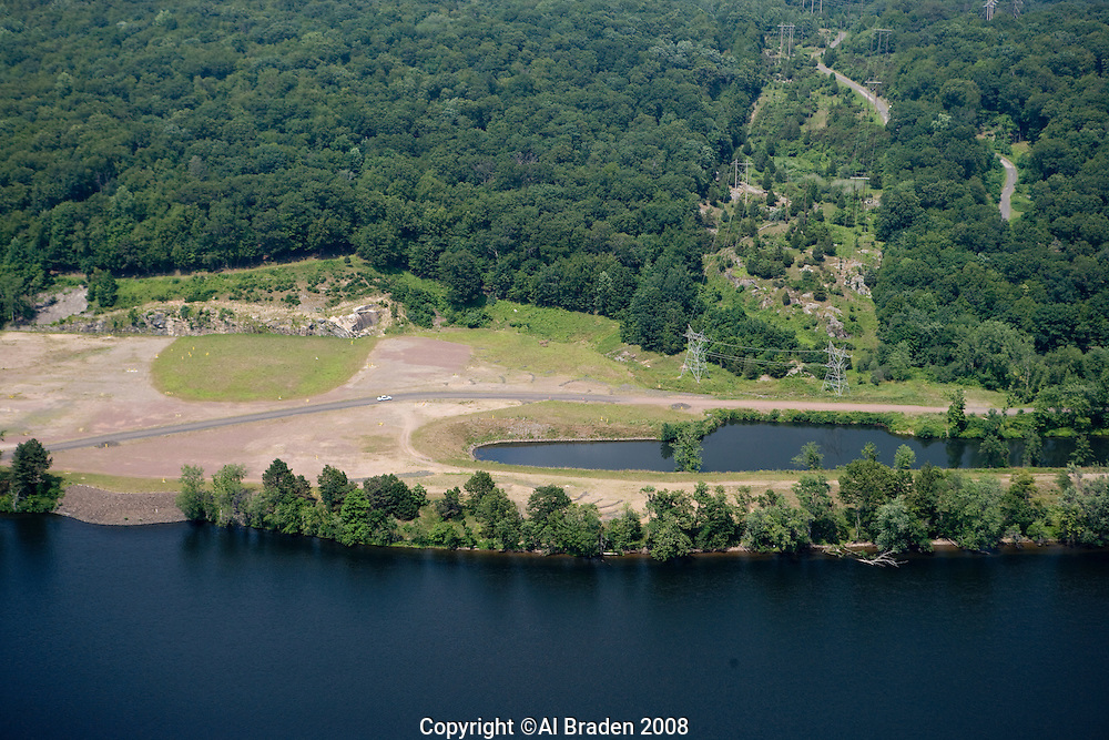 Former Connecticut Yankee nuclear power plant site, East Haddam, CT