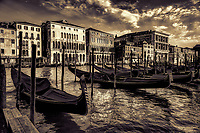 """Iron Head symbolizes Venice Gondola - BW""…<br />