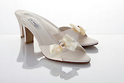 Bridal shoes with reflection