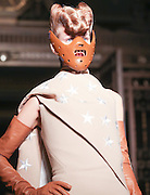 Gareth Pugh Catwalk AW16 on day 2 of London Fashion Week February 20th 2015.