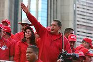 Presidente venezolano, Hugo Chavez. Caracas, 25-11-2006 (ivan gonzalez)
