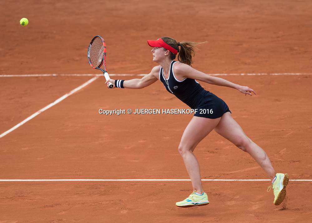 Alize Cornet (FRA)<br /> <br /> Tennis - French Open 2016 - Grand Slam ITF / ATP / WTA -  Roland Garros - Paris -  - France  - 26 May 2016.