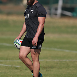 PRETORIA, SOUTH AFRICA - OCTOBER 05: Liam Coltman during the Rugby Championship New Zealand All Blacks captain's run at St David's Marist Inanda 36 Rivonia Rd, Sandown, Sandton,on October 5, 2018 in Pretoria, South Africa. (Photo by Steve Haag/Getty Images)
