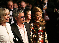 Edith Scob, Leos Carax and Kylie Minogue at the Holy Motors gala screening, red carpet at the 65th Cannes Film Festival France. Wednesday 23rd May 2012 in Cannes Film Festival, France.