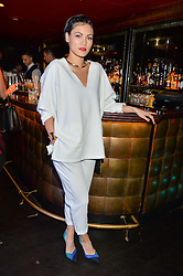 Singer songwriter SINEAD HARNETT at a party to celebrate the UK launch of French fashion label ba&sh at The Arts Club, Dover Street, London on 15th March 2016.