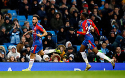 File photo dated 22-12-2018 of Crystal Palace's Andros Townsend celebrates scoring his side's second goal of the game against Manchester City during the Premier League match at the Etihad Stadium, Manchester.