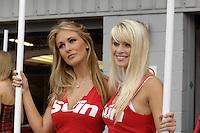 2008 British Touring Car Championship.Silverstone, Northamptonshire, United Kingdom.  30th-31st August 2008..SEAT Sport UK Grid Girl.World Copyright: Peter Taylor/PSP