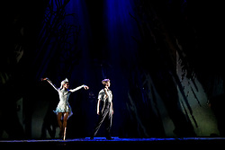 Scottish Ballet's 50th anniversary year comes to a spectacular close with the world premiere of The Snow Queen.  Pictured: a scene from the show at the Festival Theatre, Edinburgh.<br /> <br /> Inspired by Hans Christian Andersen's much-loved tale,this glittering new production is set to the music of Rimsky-Korsakov, performed live by the Scottish Ballet Orchestra.  After a run in Edinburgh the production will tour to Glasgow, Aberdeen, Inverness and Newcastle in early 2020.<br /> <br /> (c) Andrew Wilson | Edinburgh Elite media