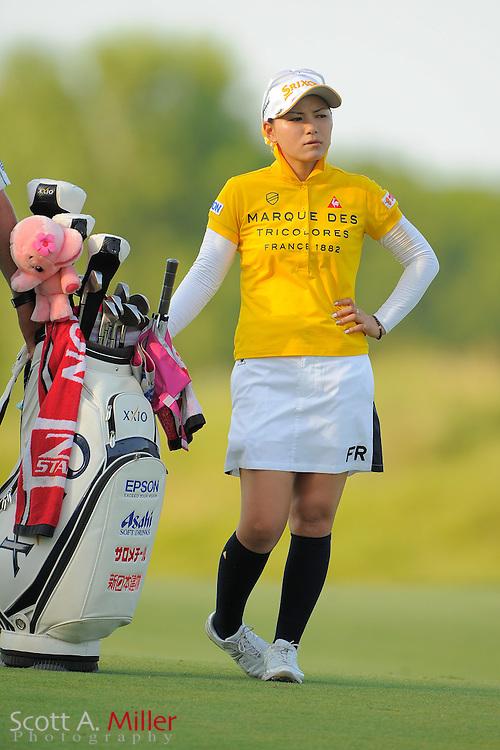 Sakura Yokomine during the first round of the US Women's Open at Blackwolf Run on July 5, 2012 in Kohler, Wisconsin. ..©2012 Scott A. Miller