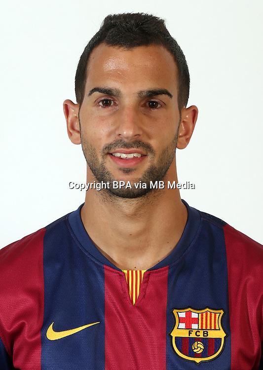 Spain - La Liga BBVA  2014-2015 /<br /> Martin Montoya -<br /> ( Fc Barcelona )