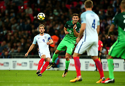 Harry Kane of England crosses the ball - Mandatory by-line: Robbie Stephenson/JMP - 05/10/2017 - FOOTBALL - Wembley Stadium - London, United Kingdom - England v Slovenia - World Cup qualifier