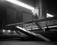 Millennium Bridge cable anchorage<br /> <br /> February 2016